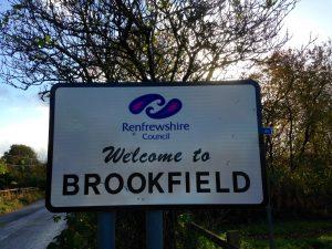 Brookfield signpost